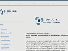 Asociaciones Civiles Iniciativa Ciudadana - GESOC