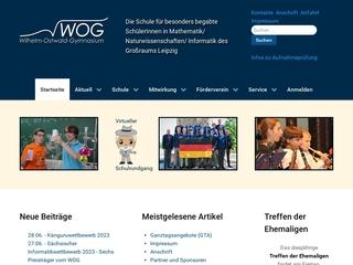 Vorschaubild der Webseite von Wilhelm-Ostwald-Gymnasium