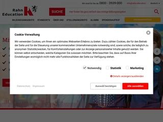 Vorschaubild der Webseite von Fachoberschule und Berufsfachschule Dr. P. Rahn und Partner