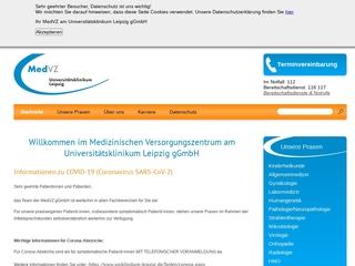 Vorschaubild der Webseite von Kinderarztpraxis im MedVZ: Allgemeine Pädiatrie, Kinderendokrinologie und Kinderdiabetologie