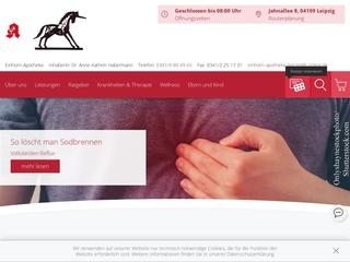 Vorschaubild der Webseite von Einhorn Apotheke
