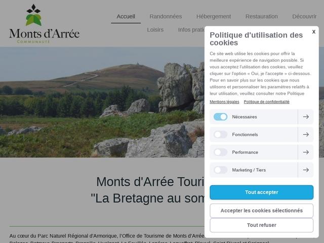 Office de tourisme Mont Arrée