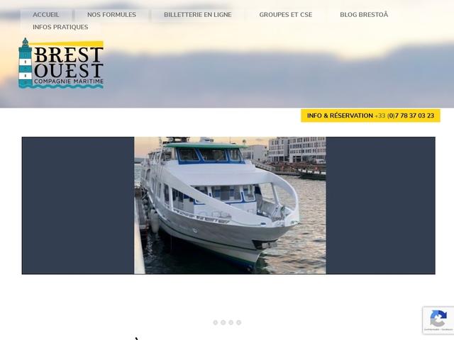 Le Brestoa Croisières en rade de Brest