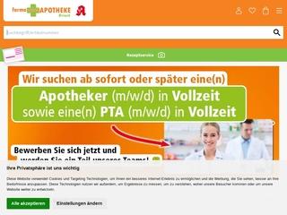 Vorschaubild der Webseite Paul-Ehrlich-Apotheke