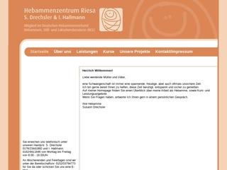 Vorschaubild der Webseite von Hebammenpraxis Susann Drechsler