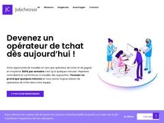 Jobchezsoi.com Devenez un modérateur de tchat