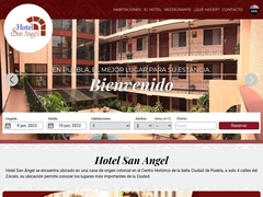 Hoteles - Hotel San Ángel Puebla