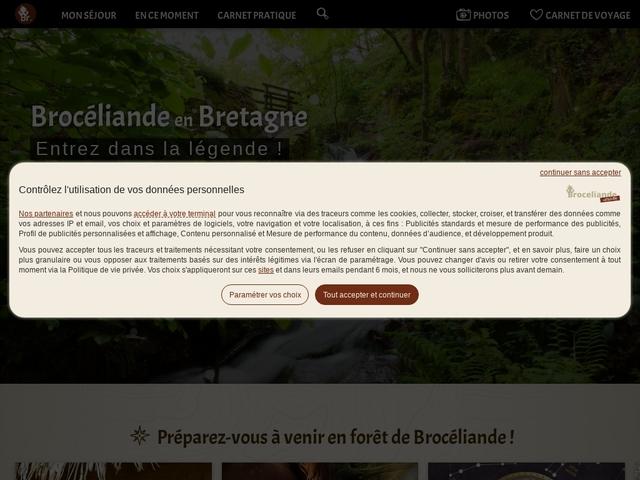 Guide Tourisme en Brocéliande
