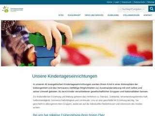 Vorschaubild der Webseite von Evangelischer Kindergarten Villa Kunterbunt
