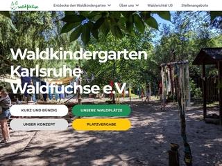 Vorschaubild der Webseite von Waldkindergarten Waldfüchse e.V.