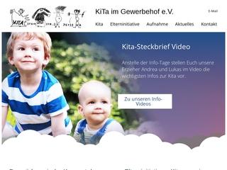 Vorschaubild der Webseite von Kita im Gewerbehof