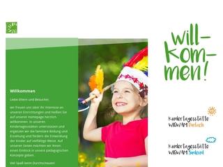 Vorschaubild der Webseite von Kita Wigwam Pfinzstraße