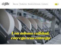 Hilo Industrial - Textiles Marie Lou