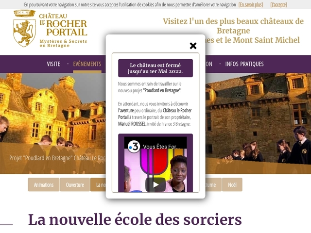 Châteaux Le Rocher Portail