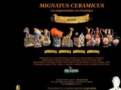 Mignatus Ceramicus - mignonnettes en céramique -  mignonettes du monde
