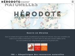 Revue Hérodote