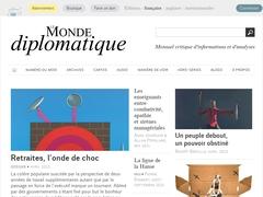 Le Monde diplomatique - Mensuel critique d'informations et d'analyses