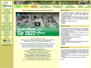 Vorschaubild der Webseite von Grüner Campus Malchow - Schule im Grünen