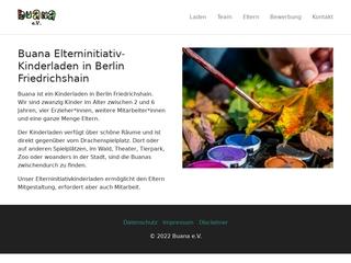 Vorschaubild der Webseite von Kinderladen Buana