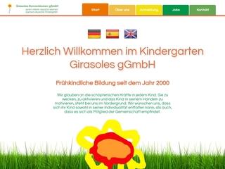 Vorschaubild der Webseite von Kindertagesstätte GIRASOLES-SONNENBLUMEN