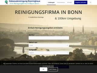 Vorschaubild der Webseite von Gebäudeservice Doeninghaus