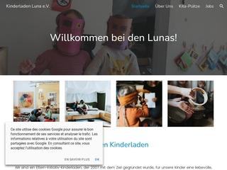 Vorschaubild der Webseite von Eltern-Initiativ-Kindertagesstätte - LUNA
