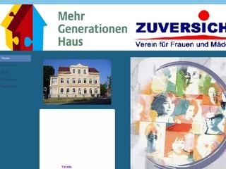 Vorschaubild der Webseite von Mehrgenerationenhaus Wurzen