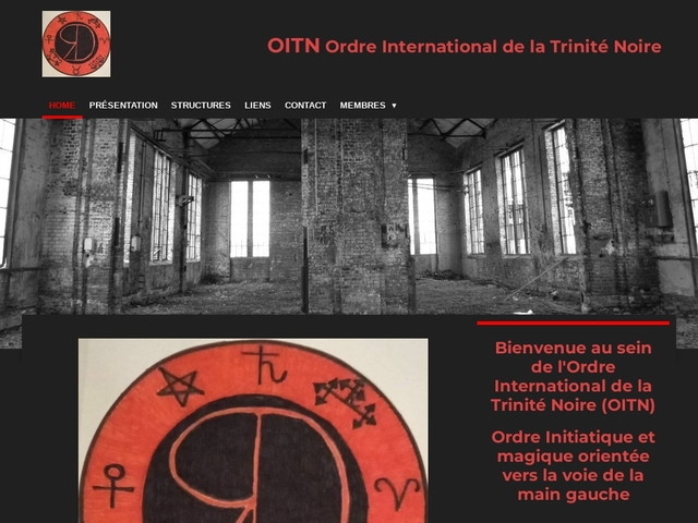 OITN Ordre International de la Trinité Noire