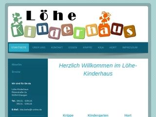 Vorschaubild der Webseite von Kindergarten im Löhe-Kinderhaus