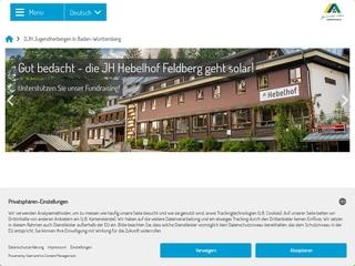 Vorschaubild der Webseite von Jugendherberge Weinheim