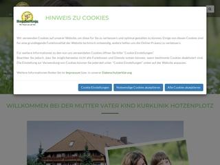 Vorschaubild der Webseite von Mutter-Vater-Kind Kurhaus Hotzenplotz