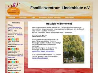 Vorschaubild der Webseite von Mütterzentrum Lindenblüte e.V.