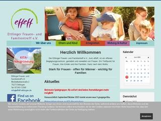 Vorschaubild der Webseite von Ettlinger Frauen- und Familientreff e.V.