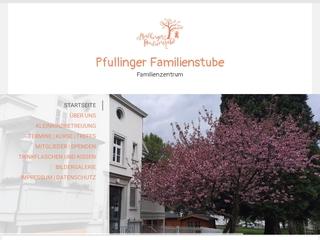Vorschaubild der Webseite von Familienstube Pfullingen