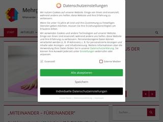 Vorschaubild der Webseite von Mehrgenerationenhaus Familienforum Markdorf