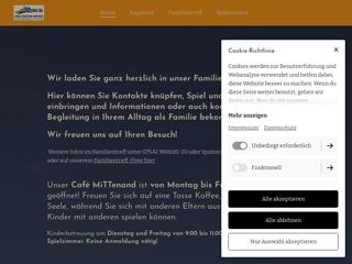 Vorschaubild der Webseite von Familienzentrum Spatzennest