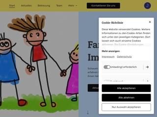 Vorschaubild der Webseite von Familientreff große-kleine Leut Immenstaad
