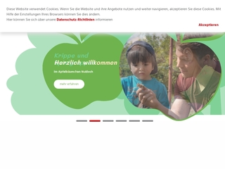 Vorschaubild der Webseite von Apfelbäumchen e.V. Nußloch