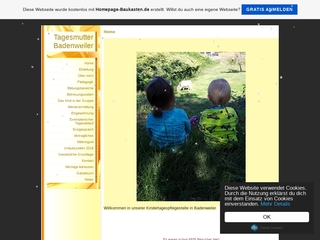 Vorschaubild der Webseite von Kindertagespflege Badenweiler