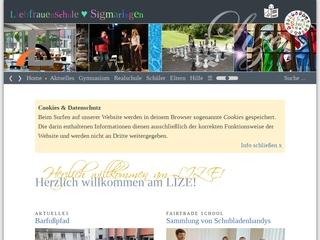 Vorschaubild der Webseite von Liebfrauenschule Sigmaringen