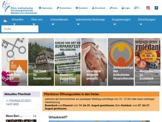 Vorschaubild der Webseite von Kindergarten St. Josef