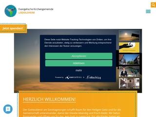 Vorschaubild der Webseite von Ev. Kindergarten Schwalbennest