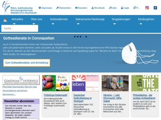 Vorschaubild der Webseite von Kindergarten St. Elisabeth