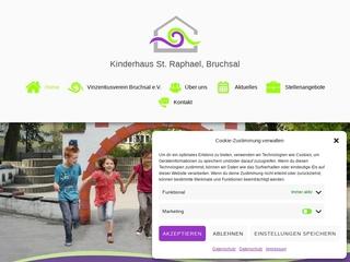 Vorschaubild der Webseite von Kindergarten Tagheim St. Raphael