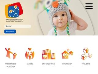 Vorschaubild der Webseite von Kinderkrippe Farbenfroh