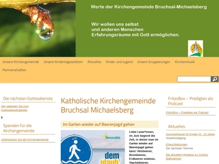 Vorschaubild der Webseite Kath. Kindergarten St. Wendelinus