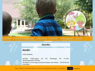 Vorschaubild der Webseite Ev.-luth Kindertagesstätte Afferde
