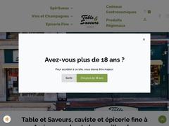 Table et Saveurs - Cadeaux gastronomiques, épicerie fine, vins et spiritueux à Amiens
