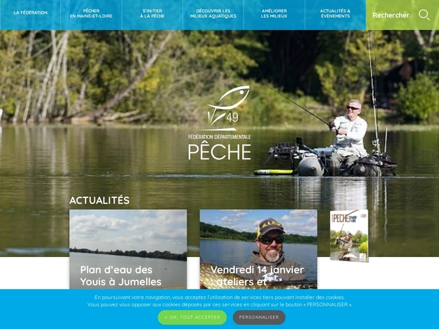 Fédération de Maine-et-Loire pour la Pêche