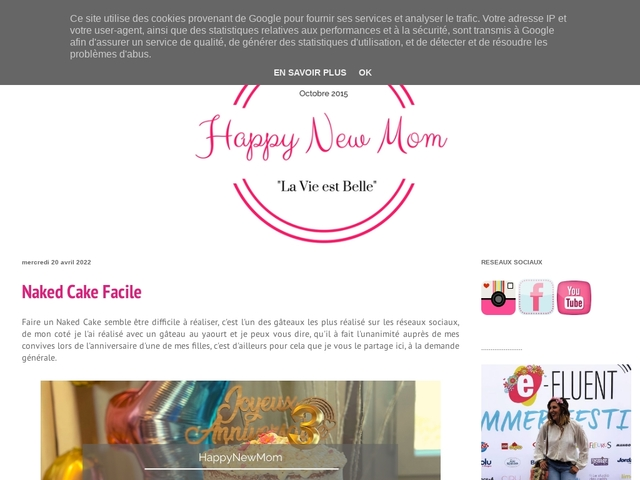 le blog happy new mom